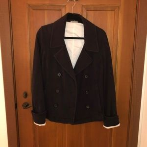 James Perse Cotton Peacoat